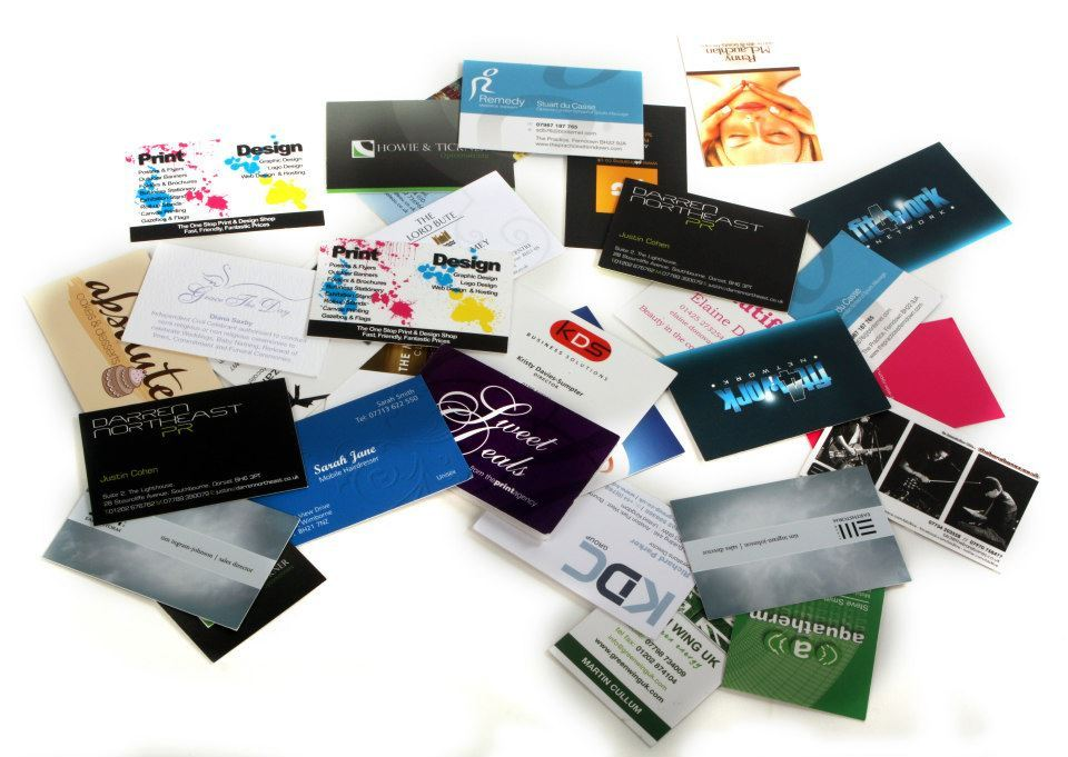 Business Card Printing and Stationery printing ferndown